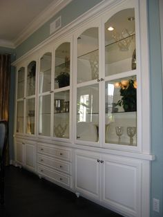 Custom Wall Unit | Signature Wood Products - Corona, CA | Pinterest ...