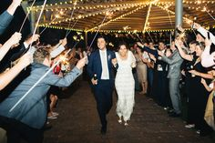 """""""Since it was a 'destination' wedding for a lot of the guests, we made a week of the wedding with events, hikes, pool parties and concerts."""""""