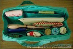 Bag  for needlework. СУМКА ДЛЯ РУКОДЕЛИЯ - ИЗ ЛОСКУТКОВ - С ПОДРОБНЫМ МАСТЕР КЛАССОМ