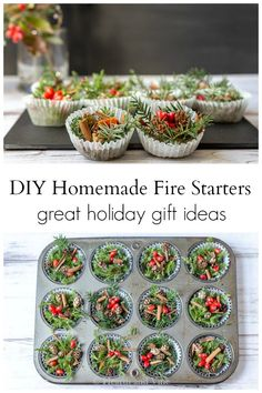 DIY fire starters make a beautiful holiday thank you gift for anyone who loves to build a fire. Natural easy and inexpensive to make you can wipe up a batch and bag them up in no time. Diy Gifts For Christmas, Easy Christmas Decorations, Holiday Crafts, Holiday Fun, Christmas Holidays, Christmas Ideas, Christmas Kitchen, Christmas Gingerbread, Christmas Nails