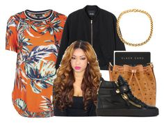 """""""."""" by karaa728 ❤ liked on Polyvore featuring Topshop, Monki, MCM and Giuseppe Zanotti"""