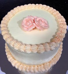 """6"""" Buttercream Frosted Cake"""