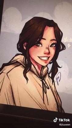Digital Painting Tutorials, Digital Art Tutorial, Art Tutorials, Art Drawings Sketches Simple, Cool Drawings, Digital Art Beginner, Digital Art Anime, Ipad Art, Cartoon Art Styles