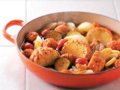 魚河岸あげ®とじゃがいもの和風カレー鍋 魚河岸あげ® おいしいおすすめ料理レシピ 紀文食品