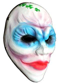 Gmasking Resin Payday 2 Female Clover Mask ReplicaGmask Helmet Keychain *** For more information, visit image link.