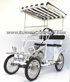 Four (4) wheel bike(s) bicycle(s), Surrey bike(s) bicycle(s) two (2) person bike(s)