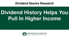 Want to find out how a quick history lesson can help you keep your income from dividend stocks safe?  Here's how.