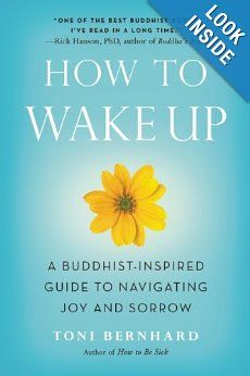 How to Wake Up: A Buddhist-Inspired Guide to Navigating Joy and Sorrow by Toni Bernhard.  Recommended by Oriah Mountain Dreamer.