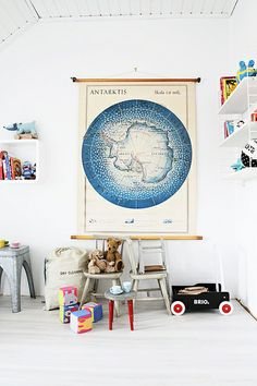 Kids room by Kenziepoo, via Flickr