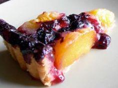 Rețetă Desert : Tarta cu piersici si afine de Retete30minute