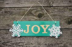 JOY sign, Krylon Holiday Mystery Box