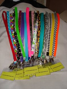 Duct Tape Lanyards by DuctTapeCouple on Etsy, $5.99