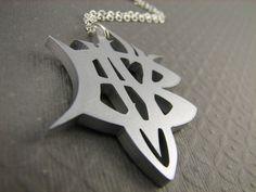 Slayer Necklace BVS in Silver Color