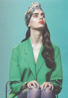 Tinfoil hat - tinfoil turban #tinfoil #fashion