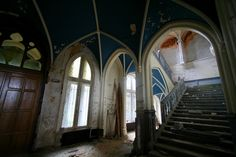 Övergivna platser - Chateau Miranda EUROPA