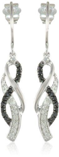 10K White Gold Black and White Diamond Cross Over Earrings (1/4 cttw, I-J Color, I2-I3 Clarity), http://www.amazon.com/dp/B004IK9V4O/ref=cm_sw_r_pi_awdm_woYhtb0AXRP7G