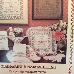 """Margaret & Margaret Cross Stitch """"Gained in Marriage Sampler"""" by TheLavenderPathHome on Etsy"""