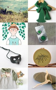 Green Christmas from PT Team by Helena Ribeiro on Etsy--Pinned with TreasuryPin.com #PTteamEtsy #ChristmasColorsProject #EtsyEurope #Portugal