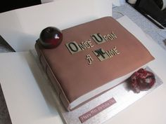 Once Upon a Time book — Birthday Cakes