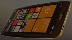 Concept WP8-smartphone – Luxury Gold Louis Vuitton