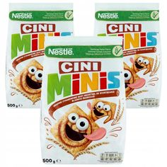Cini Minis, Frosted Flakes, Cereal, Corn Flakes, Breakfast Cereal