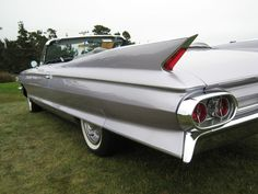 1961 Cadillac - Cadillacs were restyled and re-engineered for 1961.