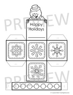 Christmas Craft - Make a Paper Gift Basket Classroom Activities, Craft Activities, Christmas Images, Christmas Crafts, Stocking Template, Paper Lanterns, Paper Gifts, Gift Baskets, Crafts To Make