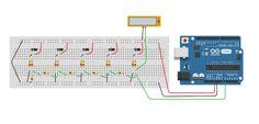 Daniele Alberti, Arduino 's blog: Un solo pin per leggere molti pulsanti con Arduino...