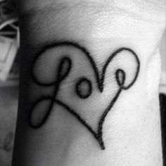 If I were to get ONE MORE tattoo.. This is the one! Love means everything to me, it's how I get by ..