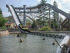 Geauga Lake Amusement Park, Amusement Parks, Cleveland Rocks, Park Around, Lake Park, Local Attractions, Sea World, Roller Coaster, Aurora