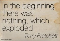 Quote by Terry Pratchett About science