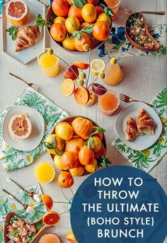 How To Throw The Ultimate (Boho Style) Brunch | eBay
