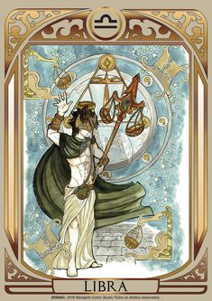 Print art with Libra male of ZODIAC project developed by Mangarts Comic Studio. Libra Art, Zodiac Art, Zodiac Horoscope, Major Arcana Cards, Zodiac Star Signs, Balance, Fantasy Characters, Astronomy, Mythology