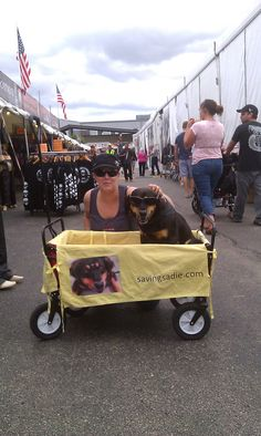 With Laura from Pet World at Harleyfest #harley
