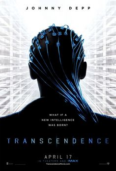 """Pictures has just released a brand new poster for their science-fiction thriller, Transcendence. The film stars Johnny Depp (""""The Lone Ranger"""") and is directed by Christoper Nolan's longtime cinematographer, Wally Pfister (""""The Dark Knight""""). Fiction Movies, Sci Fi Movies, Hd Movies, Movies Online, Movie Tv, Science Fiction, Hero Movie, Fantasy Movies, Iconic Movies"""