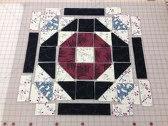Downton Abbey Quilt Along Week 6