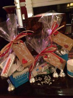 Merry Kiss-mas stocking stuffers.   Lip Shield, Redefine Lip Renewing Serum and Hershey's Kisses :)