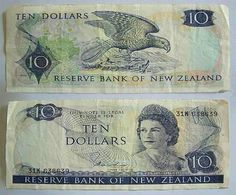 the $10 note 1967-1981  ~ Old Wellington Region 22 May 2014