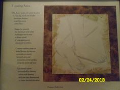 My poem Traveling Alone along with my sketch framed for viewing.