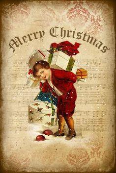 *le Marché de Noël, au Village*  d.