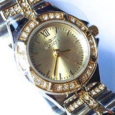 Invicta Wildflower Women's Watch 17064 Swiss Made Movement Two-tone 21.5MM #Invicta #Fashion