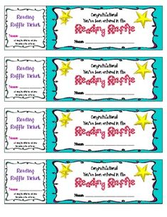 I love this! Maybe when students hand in reading logs at the end of each week, they can get a raffle ticket. Winners will be drawn monthly.