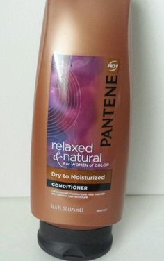 Pantene Relaxed and Natural Hair Series Dry to Moisturized Conditioner 12.60 oz #Pantene