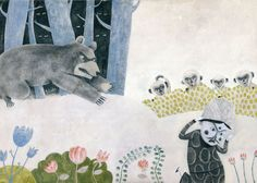 """Alessandra Vitelli, one of eleven artists whose illustrations are featured in """"The Great Tree of Rebirth"""", tales of the lands of India."""