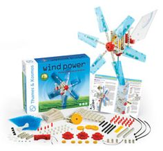 This great activity teaches children all about wind power through 20 different experiments, and includes a great 32-page manual for the instructor.  Discover how the sun makes the wind, providing us with an endless source of energy. Read about different types of wind turbines and windmills.