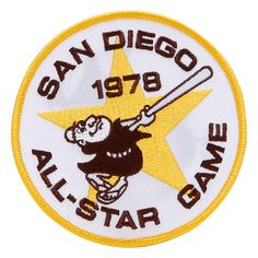 San Diego Padres 1978 All-Star Game Commemorative Patch