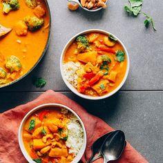 1-Pot Pumpkin Curry | Minimalist Baker Recipes