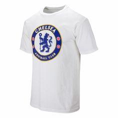 ae3ffc713 Chelsea FC Crest Soccer Tee - White Chelsea Football