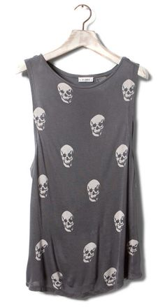 skull top | Tumblr (a favourite gothic punk clothes repin of VIP Fashion Australia )