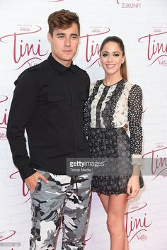 Jorge Blanco and Martina Stoessel attend the Showcase Of Tini: Violettas Zukunft on October 16, 2016 in Berlin, Germany.